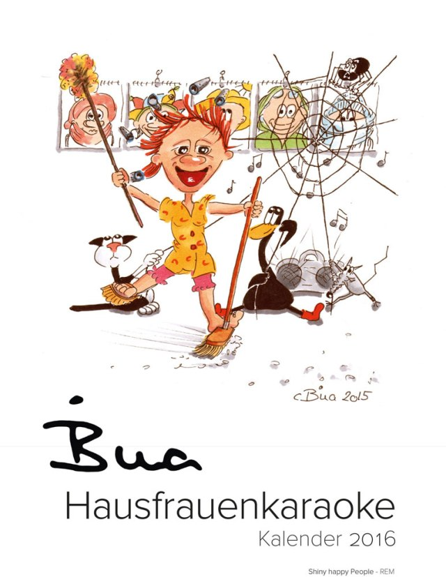 Hausfrauenkaraoke-Kalender 2016